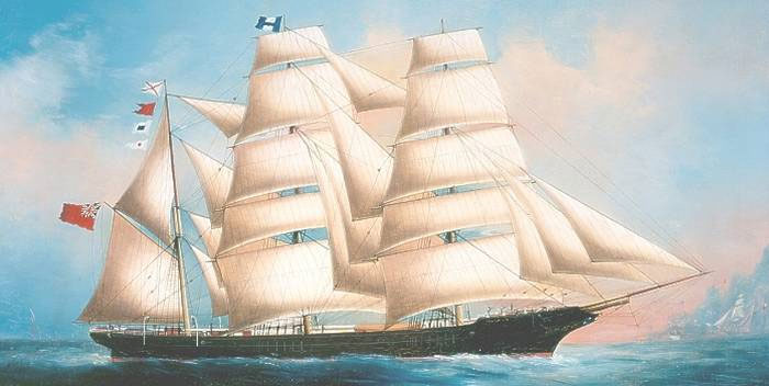 The Lost World of the Sailing Ship 1780 -1880