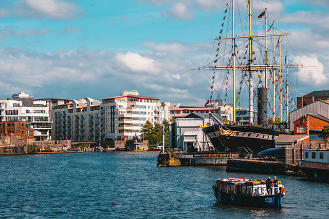 ss Great Britain, host of the 2018 New Researchers' Conference